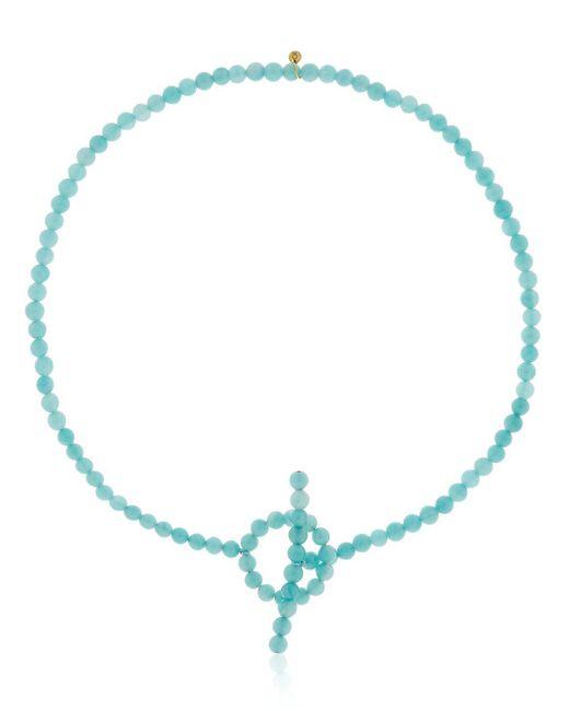 Saskia Diez - Blue Holiday Necklace Choker - Lyst