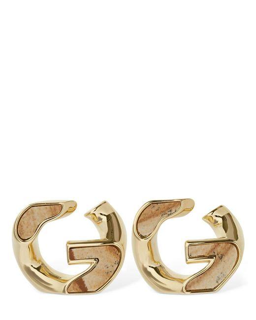 Givenchy G Chain スタッドピアス Metallic