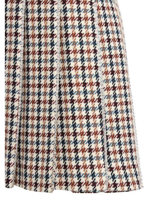 Area Tennis プリーツミニスカート Multicolor