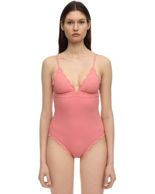Marysia Swim Santa Clara ワンピース水着 Pink