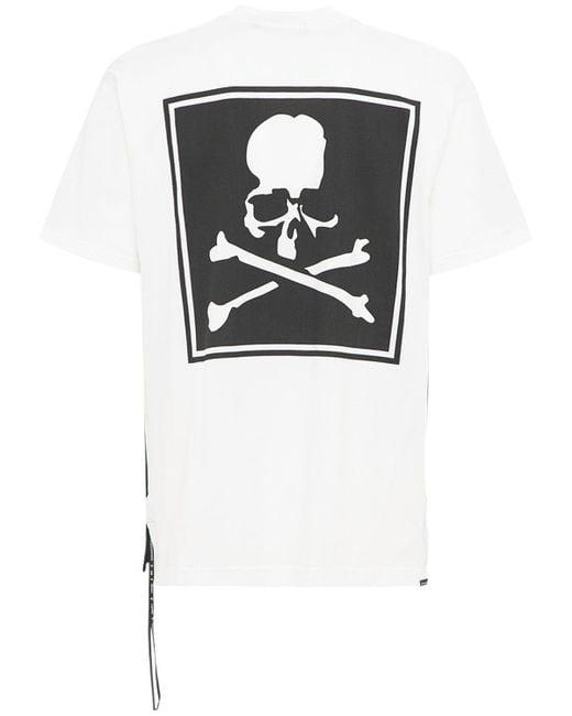 メンズ MASTERMIND WORLD コットンボックスtシャツ Black