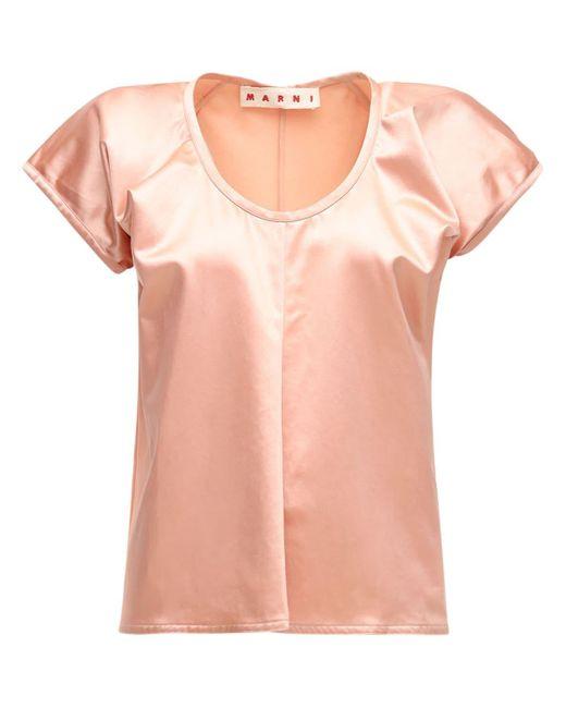 Marni コットンブレンドシャツ Pink