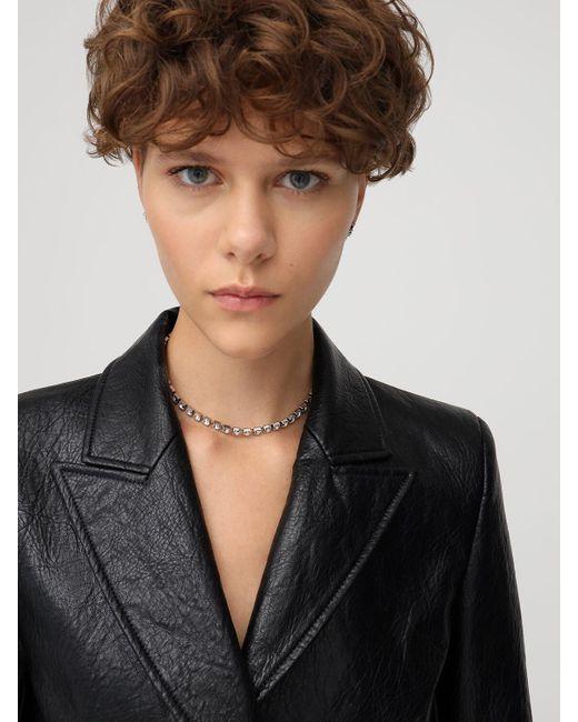 Isabel Marant Melting クリスタルチョーカーネックレス Metallic