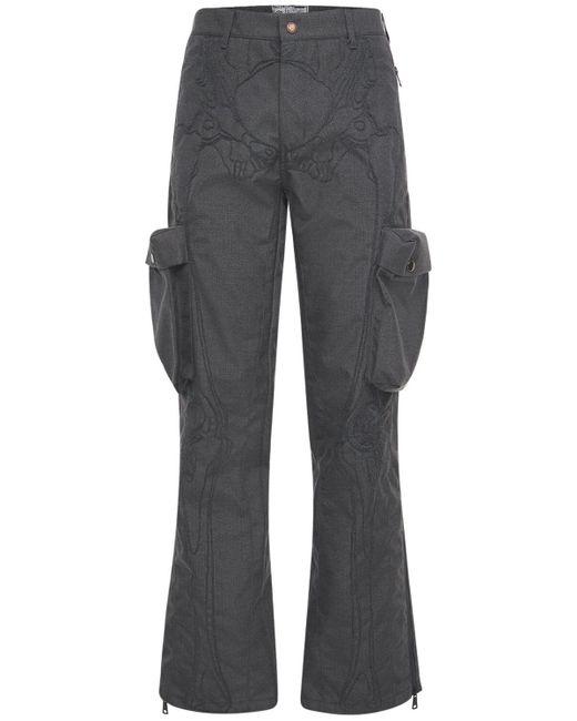 """Pantalones Cargo """"ultrasound"""" Bordados Formy Studio de hombre de color Gray"""