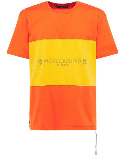 メンズ MASTERMIND WORLD コットンtシャツ Orange