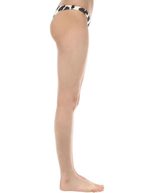 Solid & Striped Multicolor Bikinislip Mit Leodruck