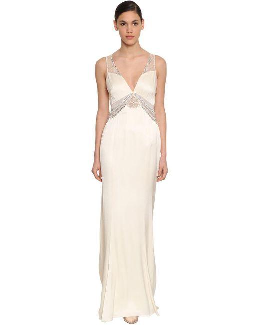 Temperley London Christie ロングドレス White