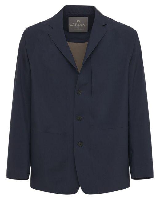 メンズ Lardini Ultrasonic Lapel Coverall ジャケット Blue