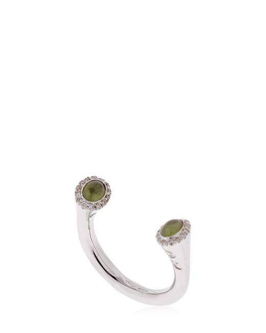 MARCO DAL MASO | Metallic Koiwi White Gold Ring | Lyst