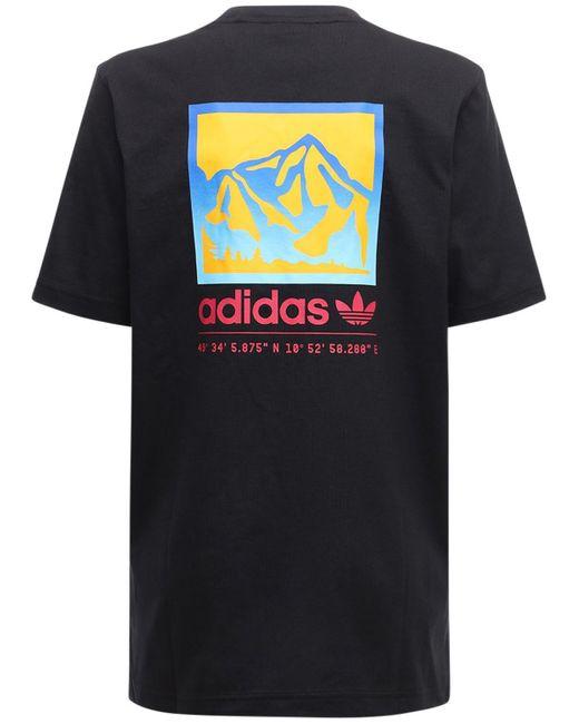 Adidas Originals Adiplore グラフィックtシャツ Black