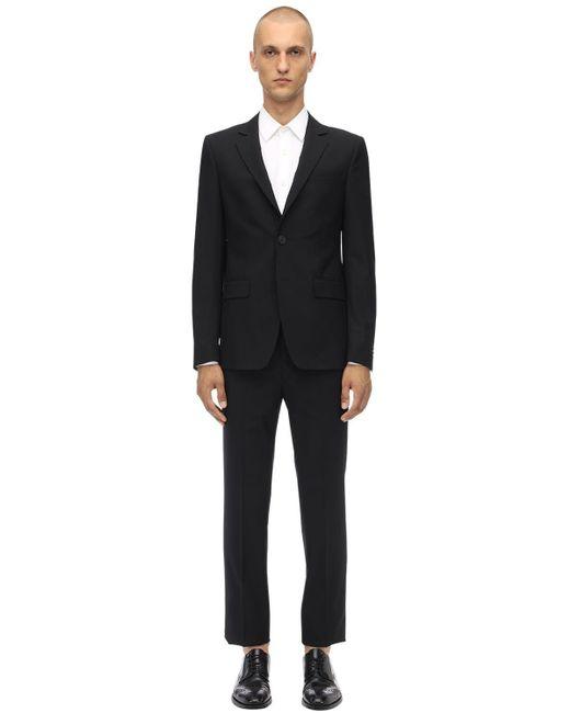 Костюм Из Шерсти 120's Givenchy для него, цвет: Black