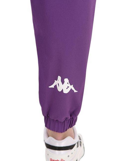 Kappa Banda Banskey ナイロンパンツ Purple