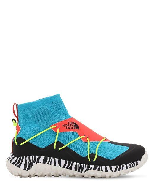 "The North Face Sneakers ""M Sihl Mid Pop Iii"" de hombre de color azul"