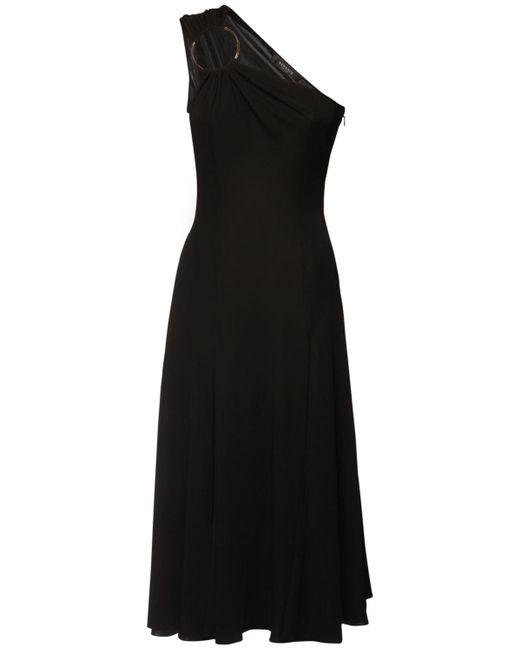 Versace ビスコースジャージードレス Black