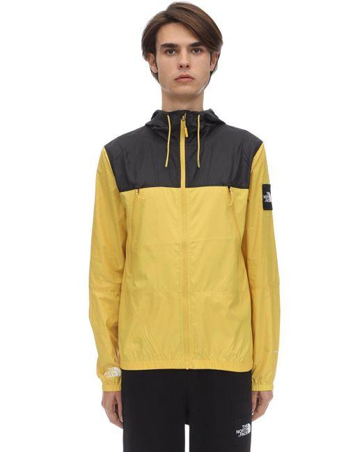 Ветровка На Молнии The North Face для него, цвет: Yellow