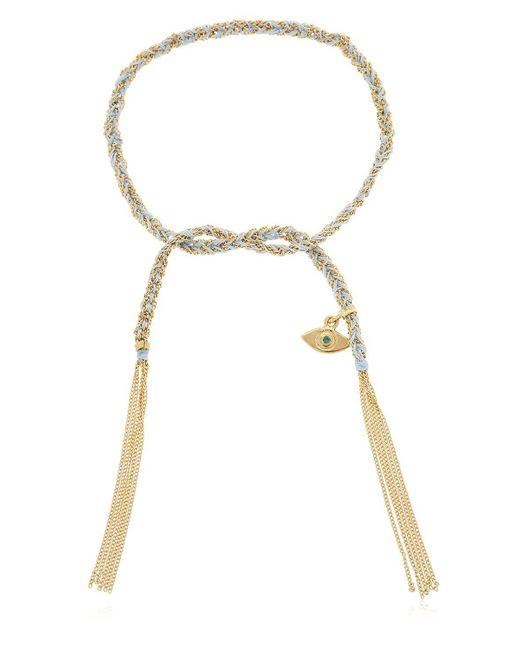 Carolina Bucci - Metallic Lucky Protection Gold Bracelet - Lyst