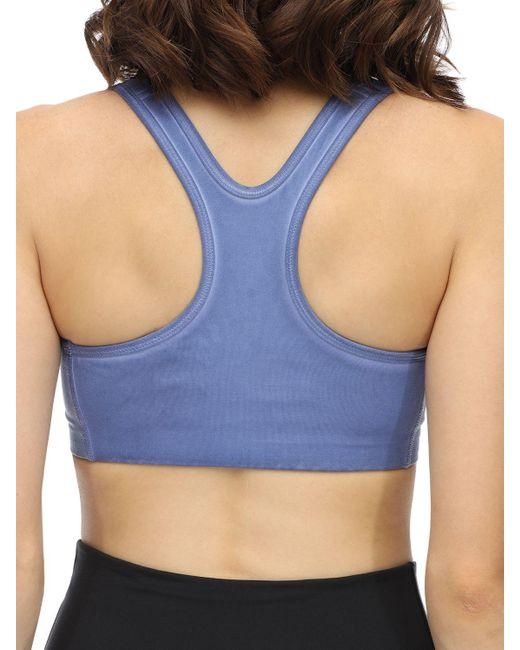 1017 ALYX 9SM Nike Collab スポーツブラ Blue
