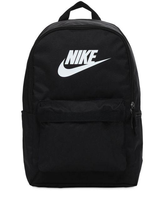 メンズ Nike Heritage バックパック Black