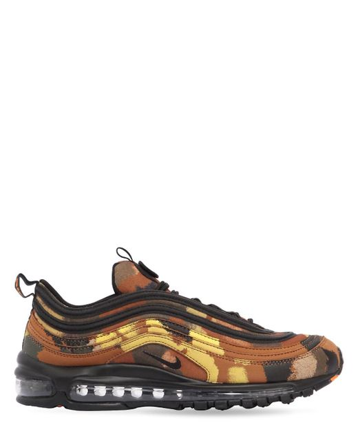 """Nike Multicolor Sneakers """"air Max 97 Camo Pack Italy"""""""