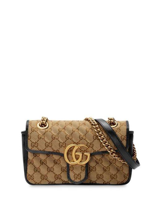 Gucci Gg Marmont 2.0 ミニ レザーショルダーバッグ Multicolor