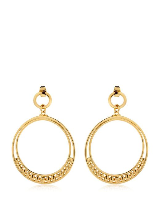 Philippe Audibert | Metallic Alana Hoop Earrings | Lyst
