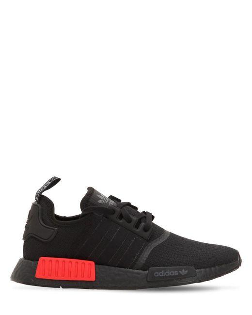 3e23ad689 Adidas Originals - Black Nmd R1 Sneakers for Men - Lyst ...