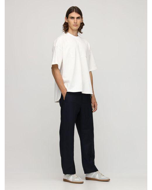 メンズ Jil Sander コットンtシャツ Natural