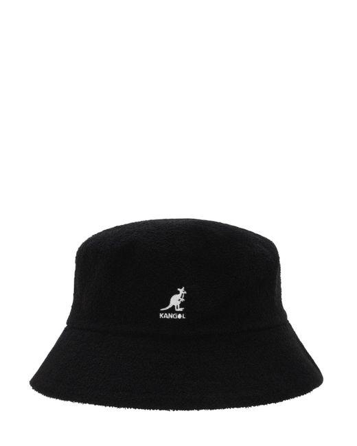 メンズ Kangol Bermuda バケットハット Black