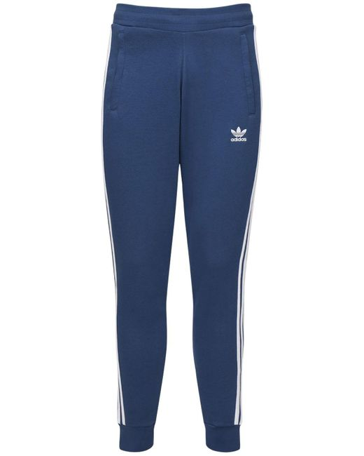 メンズ Adidas Originals コットンブレンドパンツ Blue