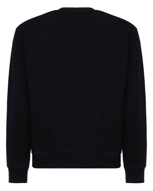 メンズ DSquared² コットンジャージースウェットシャツ Black