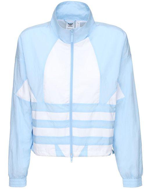 Adidas Originals テックトラックジャケット Blue