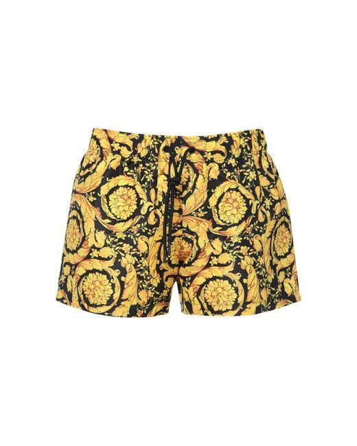 Versace Barocco テクノショートパンツ Yellow