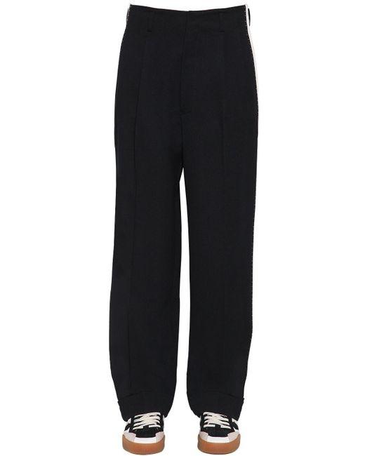 メンズ Dolce & Gabbana コットンブレンドパンツ Black