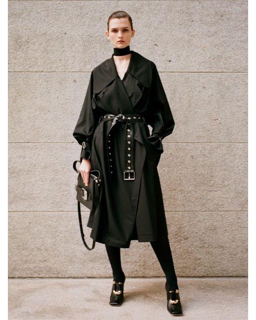 Proenza Schouler オーバーサイズコート Black