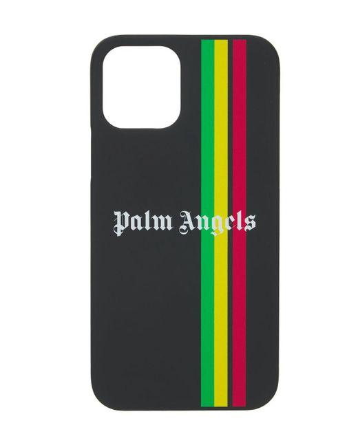 Чехол Для Iphone 12 Pro Palm Angels для него, цвет: Black