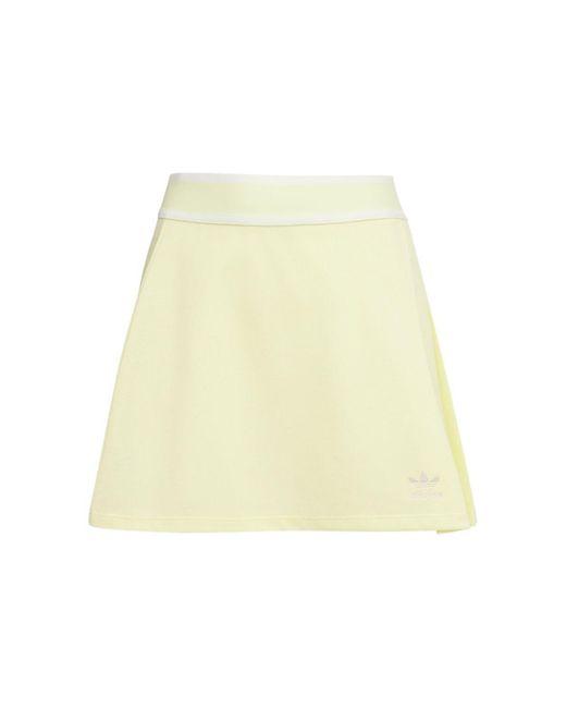 Adidas Originals コットンテニススカート Yellow