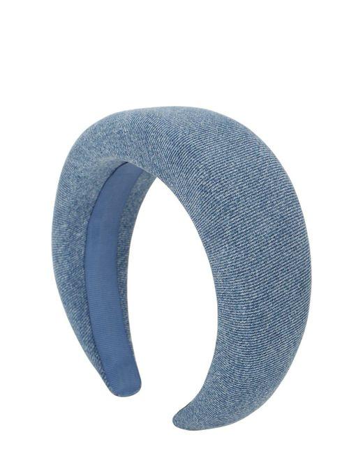 Ободок Из Хлопка Ganni, цвет: Blue