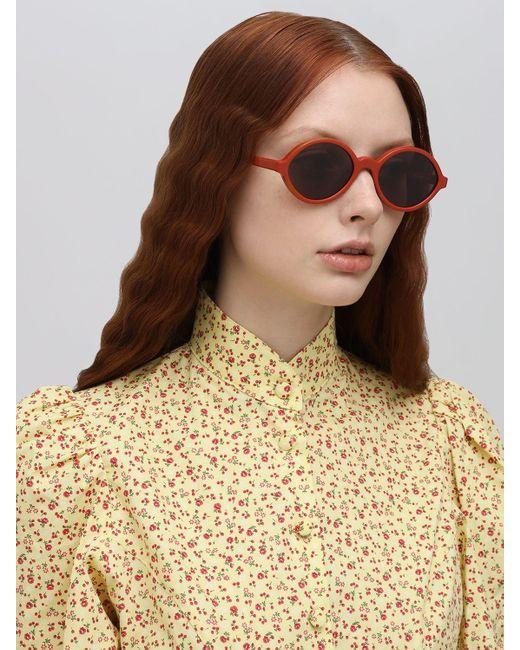 Le Specs Impromtus アセテートサングラス Orange