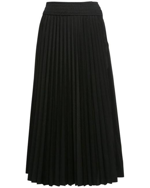 Moncler プリーツスカート Black