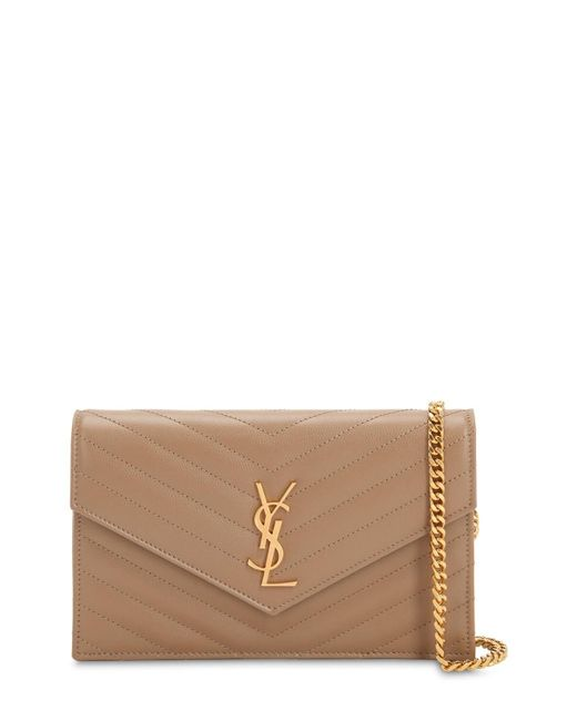 Saint Laurent Multicolor Small Monogram Quilted Leather Bag