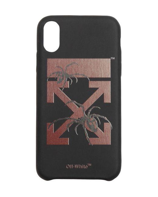メンズ Off-White c/o Virgil Abloh Arachno Arrow Pvc Iphone X/xsケース Black