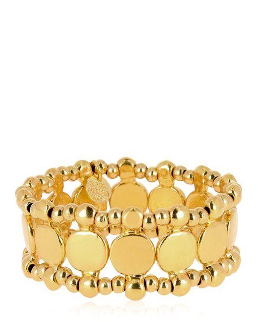 Philippe Audibert | Metallic Zacharie Gold Stretch Bracelet | Lyst