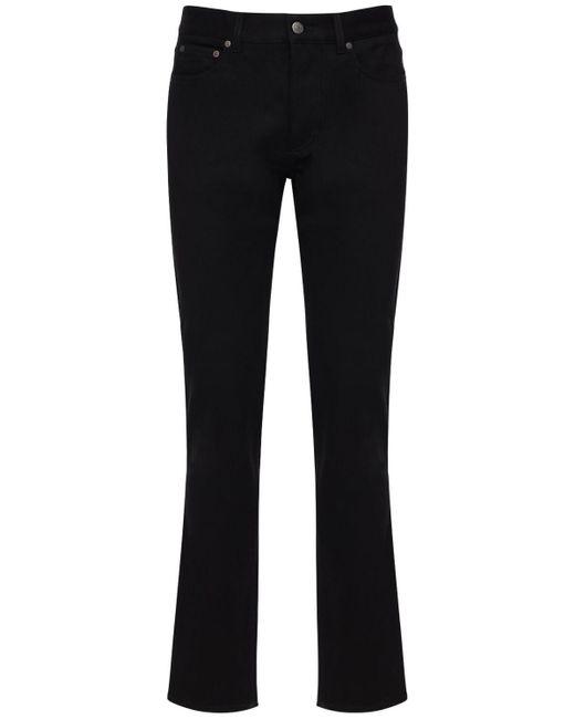 Jeans Slim De Denim De Algodón 16.4cm Givenchy de hombre de color Black