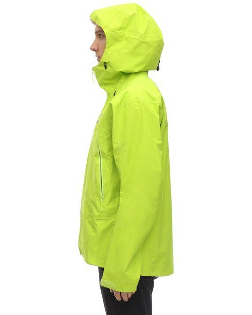 Куртка Из Нейлона Beta Hybrid Arc'teryx для него, цвет: Green
