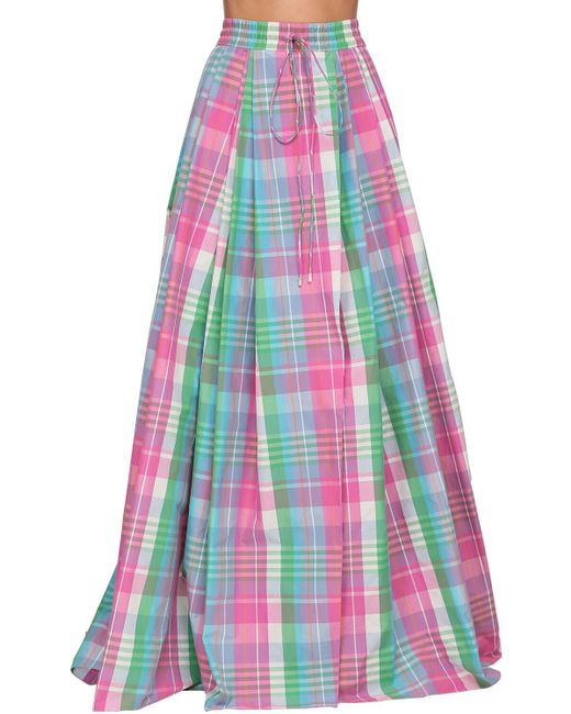 Ralph Lauren Collection Madra コットンポプリンスカート Pink