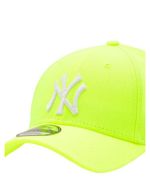 メンズ KTZ Neon Ny Yankees 9forty キャップ Yellow