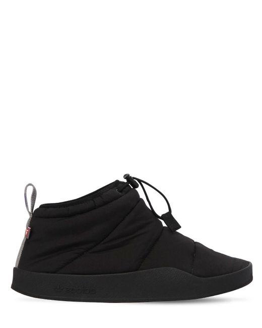 Adidas Originals Black Adilette Prima Sneakers