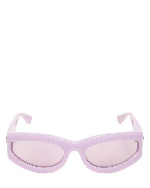 Bottega Veneta Bv1089s アセテートサングラス Purple
