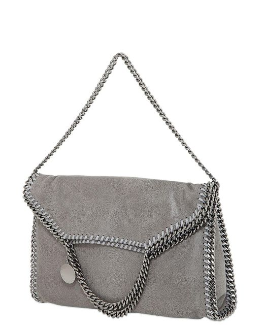 Stella McCartney 3chain Falabella Shaggy エコレザーバッグ Gray