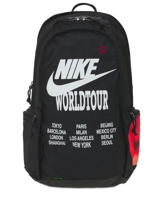 メンズ Nike World Tour ユーティリティバックパック Black